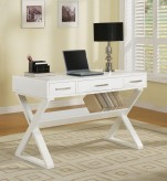 Coaster Criss Cross White Desk Available Online in Dallas Fort Worth Texas