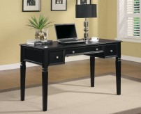 Coaster Classic Black Writing Desk Available Online in Dallas Fort Worth Texas