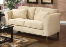 Coaster Park Place Cream Loveseat Available Online in Dallas Fort Worth Texas