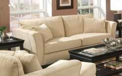 Coaster Park Place Cream Sofa Available Online in Dallas Fort Worth Texas
