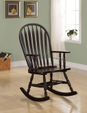 Coaster Toohey Cappuccino Rocking Chair Available Online in Dallas Fort Worth Texas