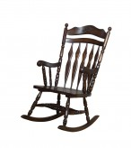 Toohey Brown Rocker Chair Available Online in Dallas Fort Worth Texas