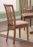 Coaster Brannan Maple Side Chair Available Online in Dallas Fort Worth Texas