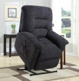 Coaster Power Lift-Chair Recliner Dark Gray Available Online in Dallas Fort Worth Texas
