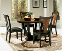 Boyer Black/Cherry Dining Table Available Online in Dallas Fort Worth Texas
