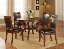 Coaster Nelms Walnut Dining Table Available Online in Dallas Fort Worth Texas