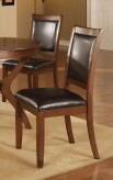 Coaster Nelms Walnut Side Chair Available Online in Dallas Fort Worth Texas