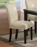 Coaster Carter Cream Side Chair Available Online in Dallas Fort Worth Texas