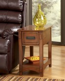 Breegin Brown Chair Side Table Available Online in Dallas Fort Worth Texas