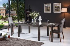 Galant 3pc Grey & Oak Dining Room Set Available Online in Dallas Fort Worth Texas