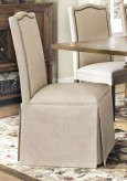 Coaster Parkins Parson Dining Chair With Skirt Available Online in Dallas Fort Worth Texas