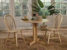 Coaster Damen Round Pedestal Table Available Online in Dallas Fort Worth Texas