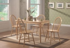 Coaster Damen Rectangle Dining Table Available Online in Dallas Fort Worth Texas