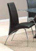 Coaster Ophelia Black Side Chair Available Online in Dallas Fort Worth Texas