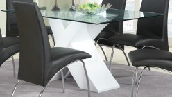 Coaster Ophelia White Dining Table Available Online in Dallas Fort Worth Texas