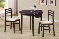 Coaster Dinettes 3pc Dining Room Set Available Online in Dallas Fort Worth Texas