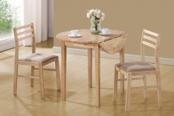 Coaster Dinettes Natural 3pc Dining Room Set Available Online in Dallas Fort Worth Texas