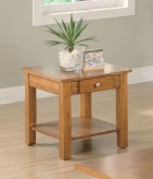 Coaster San Martin Oak End Table Available Online in Dallas Fort Worth Texas