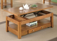 Coaster San Martin Oak Coffee Table Available Online in Dallas Fort Worth Texas