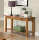 Coaster San Martin Oak Sofa Table Available Online in Dallas Fort Worth Texas