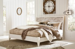 Ashley Evanni King Panel Bed Available Online in Dallas Fort Worth Texas