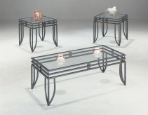 Coaster San Martin 3pc Black Coffee Table Set Available Online in Dallas Fort Worth Texas