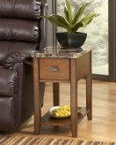 Ashley Breegin Marble Top Chair Side Table Available Online in Dallas Fort Worth Texas
