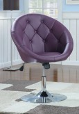Coaster Dia Round Tufted Purple... Available Online in Dallas Fort Worth Texas