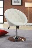 Coaster Dia White Round Tufted ... Available Online in Dallas Fort Worth Texas