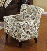 Rosalie Floral Accent Chair Available Online in Dallas Fort Worth Texas