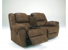 Ashley Quaterback Reclining Loveseat Available Online in Dallas Fort Worth Texas