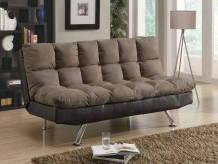 Coaster Comfy 2-Tone Sofa Bed Available Online in Dallas Fort Worth Texas