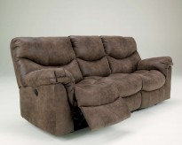 Ashley Alzena Power Reclining Sofa Available Online in Dallas Fort Worth Texas