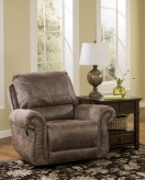 Ashley Oberson Swivel Glider Recliner Available Online in Dallas Fort Worth Texas