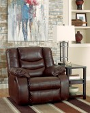 Ashley Linebacker Espresso Recliner Available Online in Dallas Fort Worth Texas