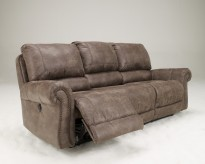 Ashley Oberson Reclining Sofa Available Online in Dallas Fort Worth Texas