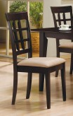 Coaster Hyde Wheatback Side Chair Available Online in Dallas Fort Worth Texas