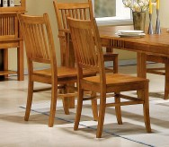 Marbrisa Mission Oak Side Chair Available Online in Dallas Fort Worth Texas