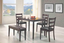 Coaster Taraval 5pc Dining Room Set Available Online in Dallas Fort Worth Texas