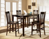 Ashley Hyland 5pc Counter Height Dining Set Available Online in Dallas Fort Worth Texas