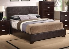 Andreas Queen Upholstered Bed Available Online in Dallas Texas