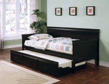 Louis Philippe Black Twin Daybed Available Online in Dallas Fort Worth Texas