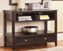Ashley Carlyle Sofa Table Available Online in Dallas Fort Worth Texas