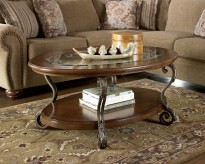 Ashley Nestor Oval Cocktail Table Available Online in Dallas Fort Worth Texas