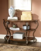 Ashley Nestor Sofa Table Available Online in Dallas Fort Worth Texas