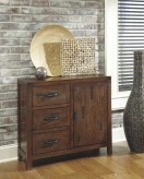 Ashley Vennilux Brown Accent Cabinet Available Online in Dallas Fort Worth Texas