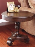 Ashley Brookfield Round End Table Available Online in Dallas Fort Worth Texas