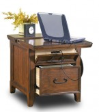 Woodboro Media End Table Available Online in Dallas Fort Worth Texas