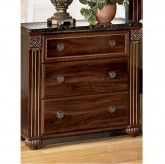 Gabriela 3 Drawer Nightstand Available Online in Dallas Fort Worth Texas
