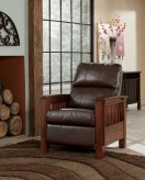 Ashley Santa Fe Bark High Leg Recliner Available Online in Dallas Fort Worth Texas